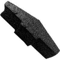 Lomanco VPLUG Foam End Plug, For Use with VUR Ridge Vents, Polyethylene, Black