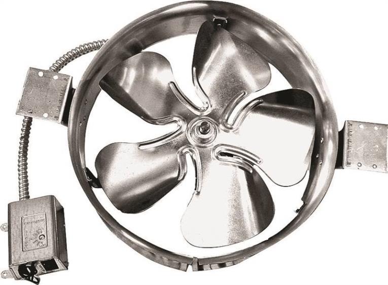 Add-A-Vent 1800 Gable Ventilator, Aluminum