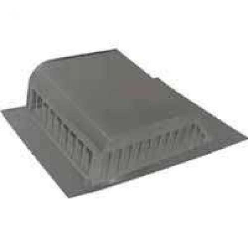 Lomanco 750WB Slant Back Static Roof Ventilator, 8 in, Aluminum, Weathered Bronze