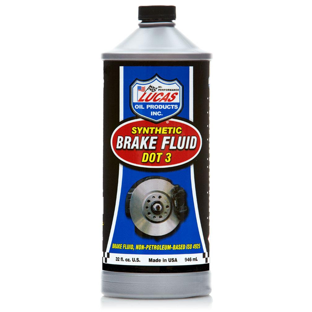 Lucas Oil DOT 3 Brake Fluid 1 Quart