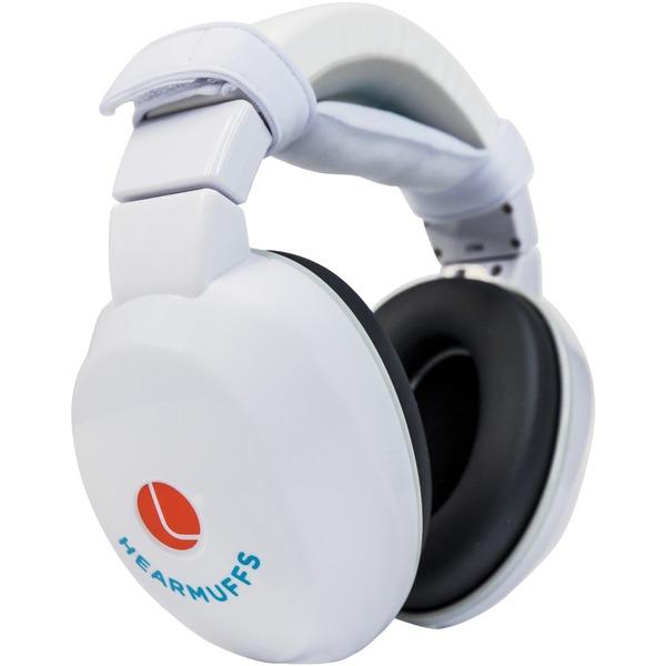 Lucid Audio LA-KIDS-PM-WH Kids HearMuffs with GrowBand