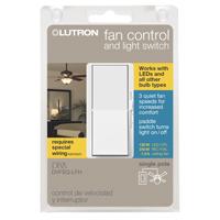 CONTROL FAN/LIGHT F/LED WHITE