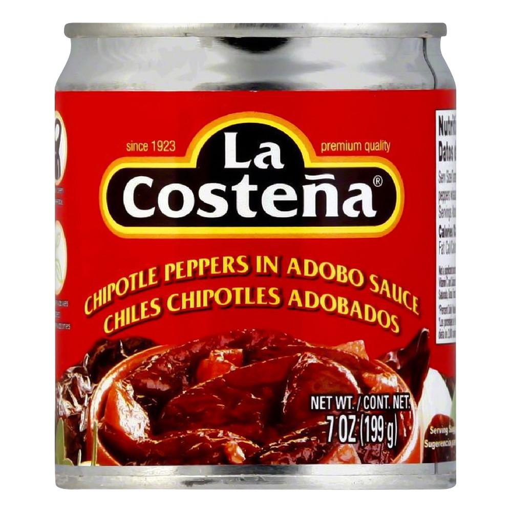La Costena Chipotle Peppers In Adobo Sauce (24x7Oz)