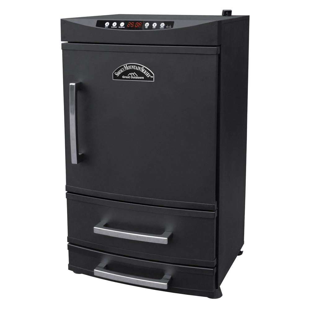 "32"" Smoky  Mountain Two Drawer Electric Smoker Black"