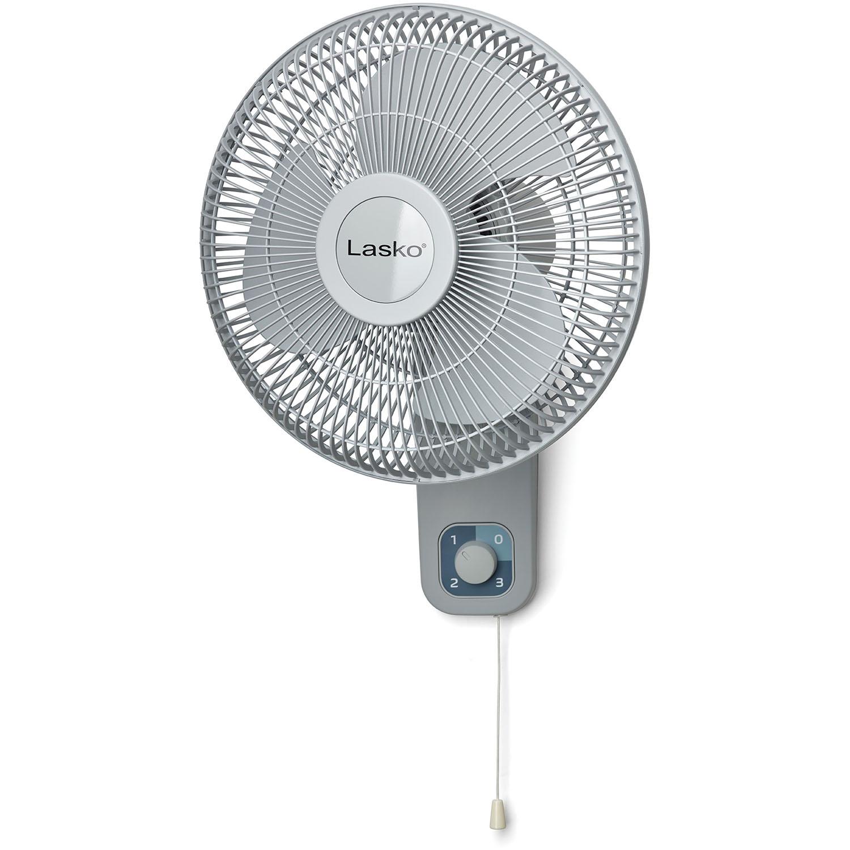 """12"""" Oscillating Wall Mount Fan"""