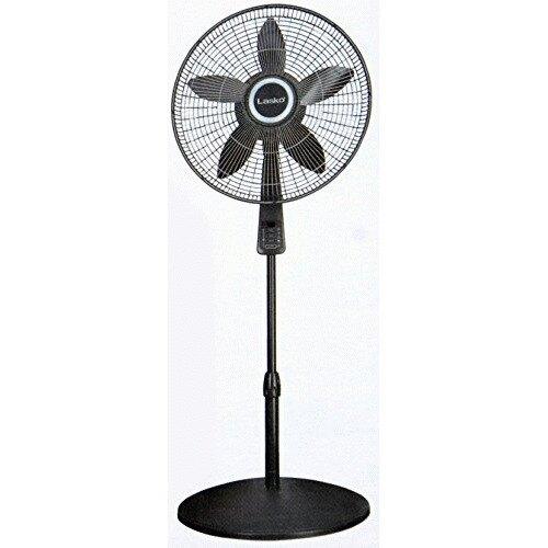 "18"" Osc Ped Fan w Remote Therm"