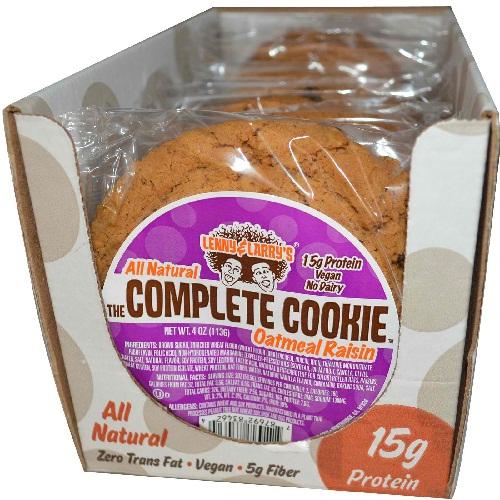 Lenny & Larrys Oatmeal Raisin Cookies (12x4 Oz)
