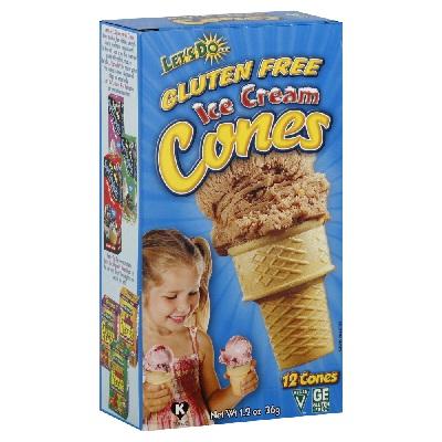 Let's DoOrgainc Ice Creme Cones (12x12OZ )