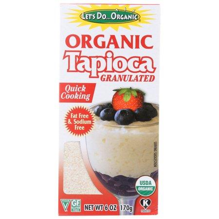 Edward & Sons Let's Do Organic Tapioca Granulated (6x6 OZ)