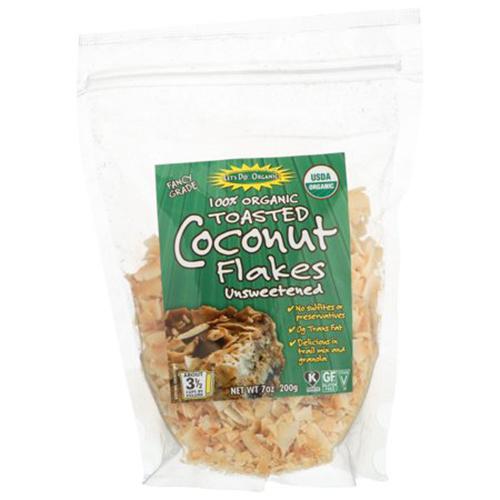 Let's Do Organics Organic Toasted Coconut Flakes (12x7 OZ)