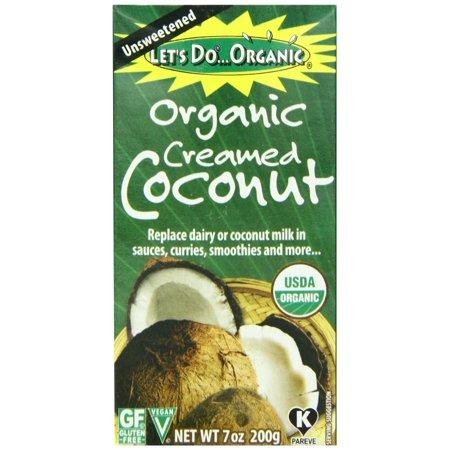 Let's DoOrganic Creme Coconut (6x7OZ )