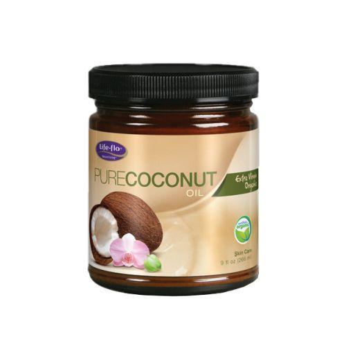Life-Flo Health Organic Pure Coconut Oil Skin Care (1x9 fl Oz)