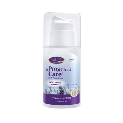 Life-Flo Progesta-Care Body Cream with Calming Lavender (4 fl Oz)