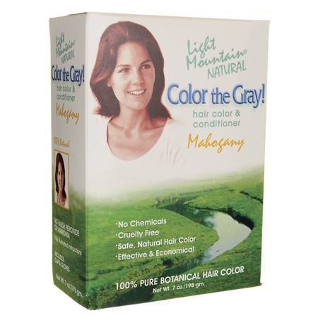 Light Mountain Color The Gray-Mahogany (1x7 fl Oz)