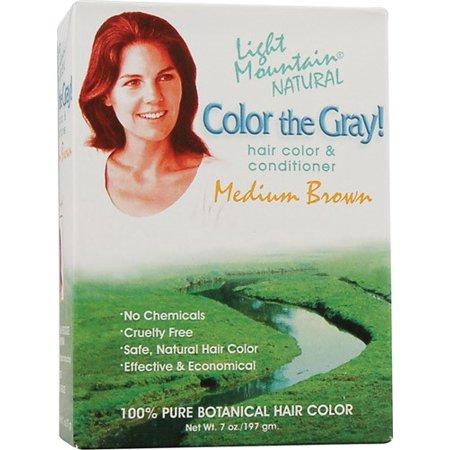 Light Mountain Color Medium Brown (1x7 fl Oz)