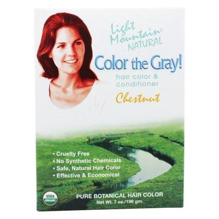 Light Mountain Color The Gray-Chestnut (1x7 fl Oz)