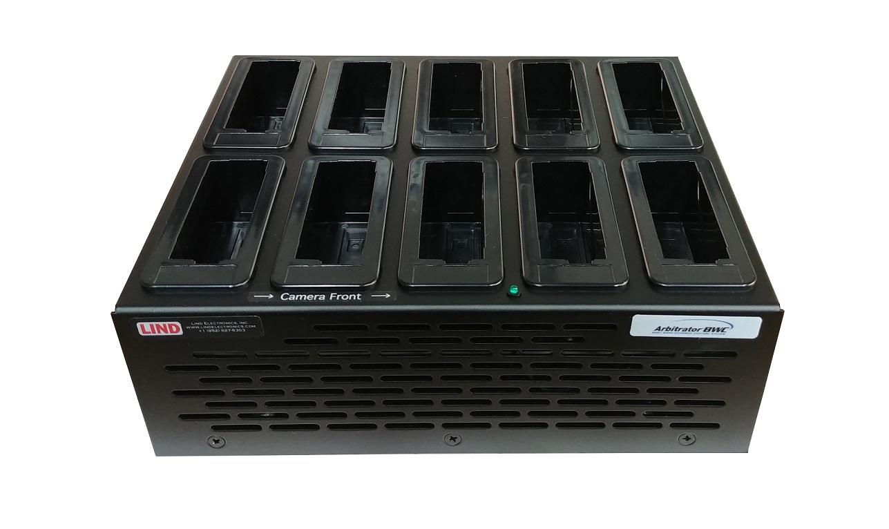 Lind 10 Bay Camera Cradle For Panasonic Arbitrator Bwc SA366 ARB-10BAYUSB