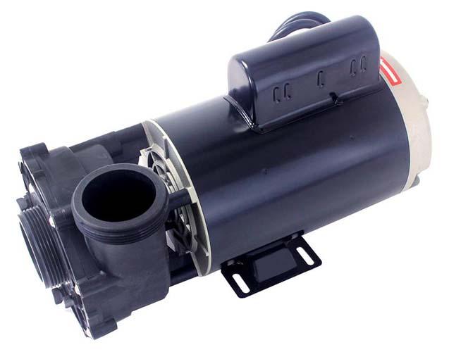 Motor, LX, Thru-Bolt, 56YFr, 4.0HP, 2-Speed, 230V, 12.0/4.4Amp