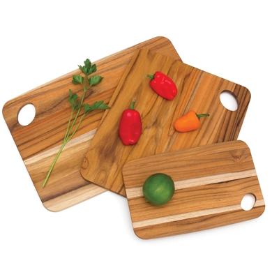 Teak Cutting Board Set 3