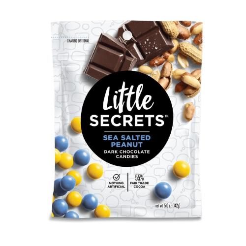 Little Secrets Sea Salted Peanut Dark Chocolate Candies (8x5 OZ)