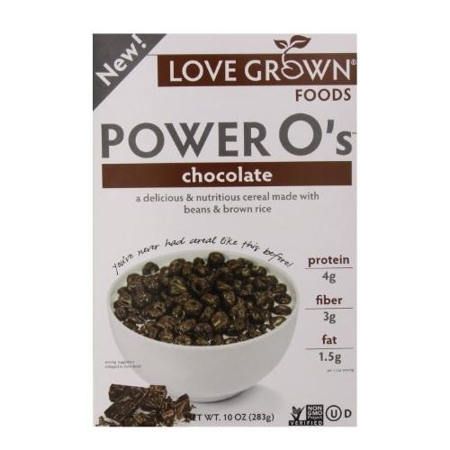 Love Grown Foods Power Os Chocolate (6x10 OZ)