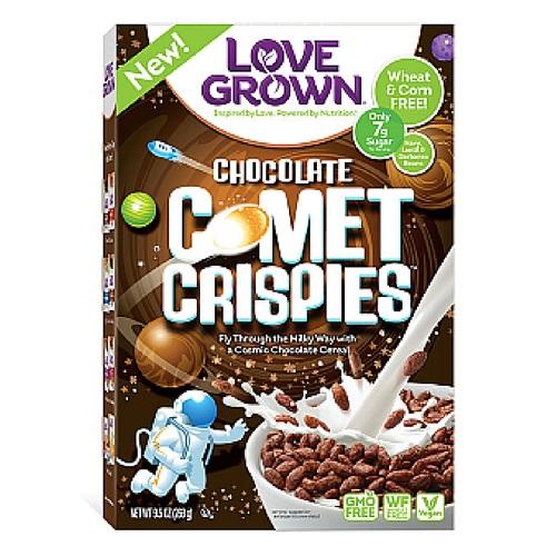 Love Grown Chocolate Comet CrispiesL (6x95 OZ)