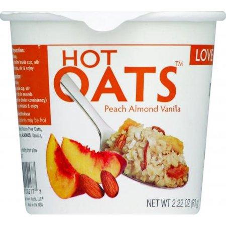 Love Grown Hot Peach Almond Vanilla Oats (8x222Oz)