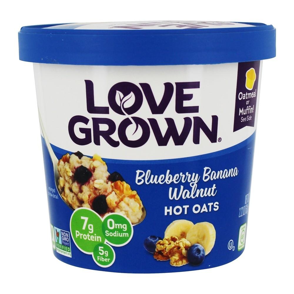 Love Grown Hot Blueberry Banana Walnut Oats (8x222Oz)