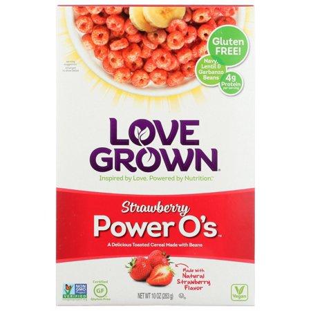 Love Grown Foods Power O's Strawberry (6x10 OZ)