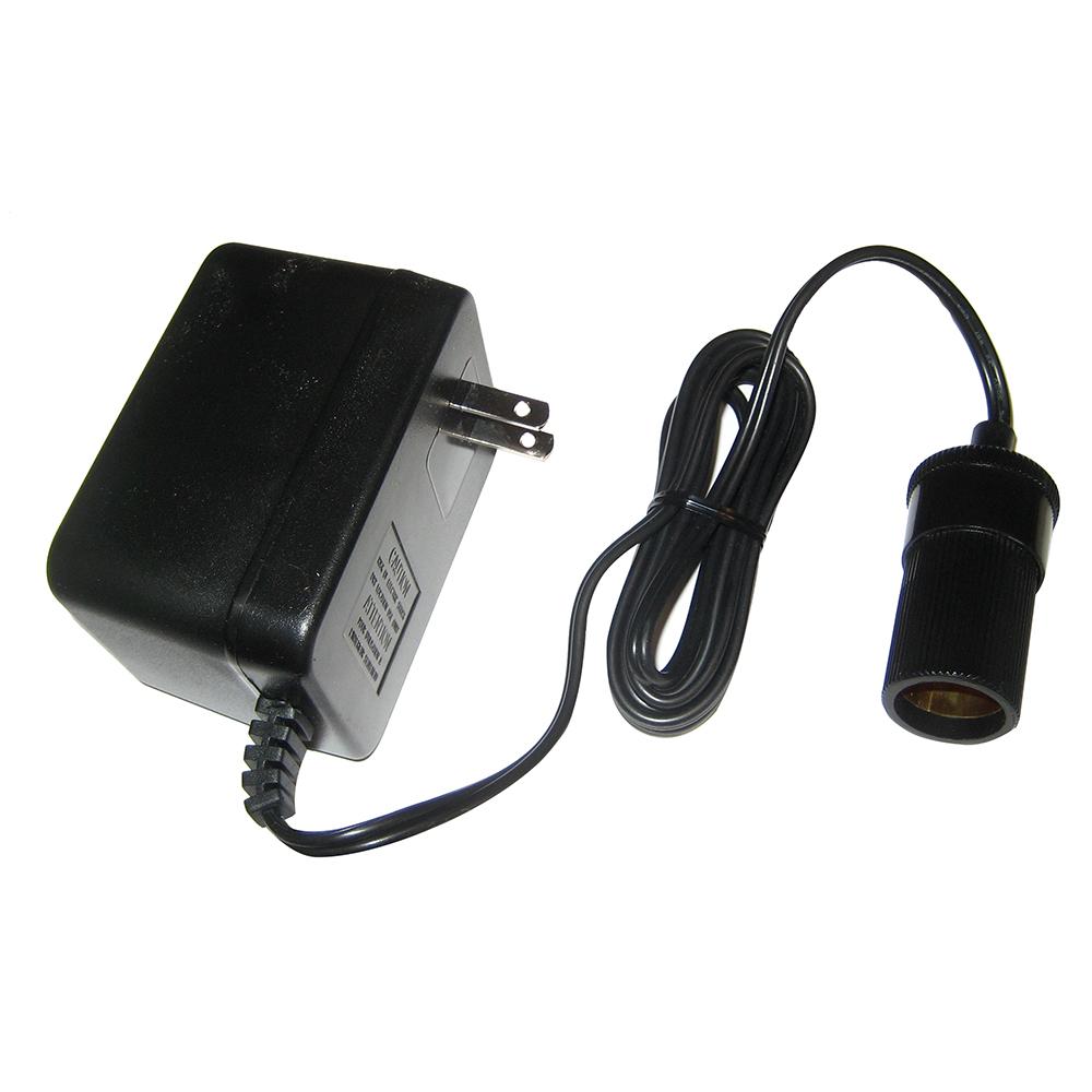 Lowrance AC Power Adapter to Female Cigarette Lighter Socket f/Power From 120V Wall Socket