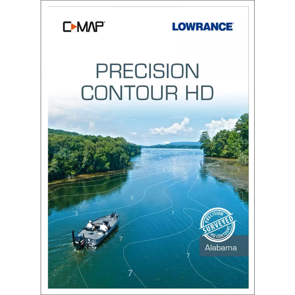 Lowrance C-MAP Precision Contour HD f/Alabama