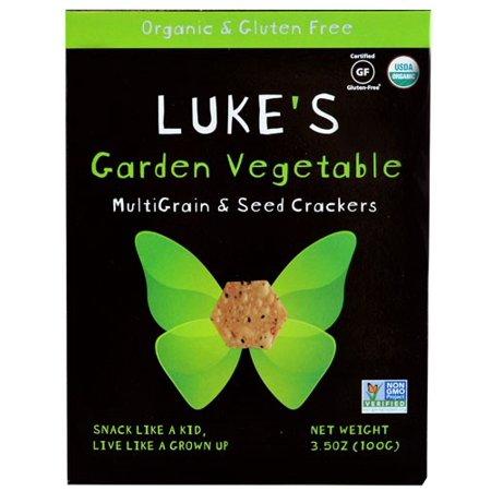 Luke's Organic Garden Vegetable Crackers (6x35 OZ)