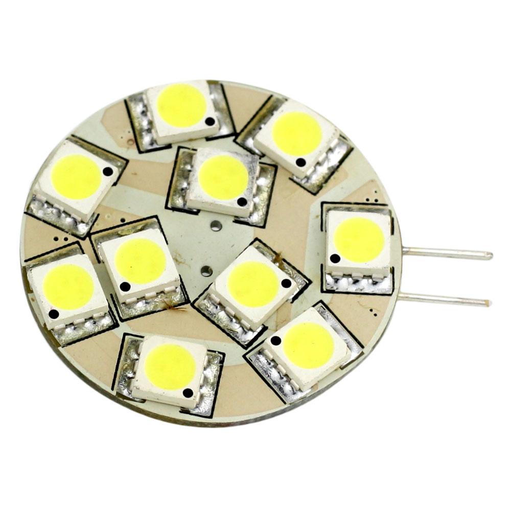 Lunasea G4 12 LED Side Pin Light Bulb - 12VAC or 10-30VDC 2W/140 Lumens - Warm White