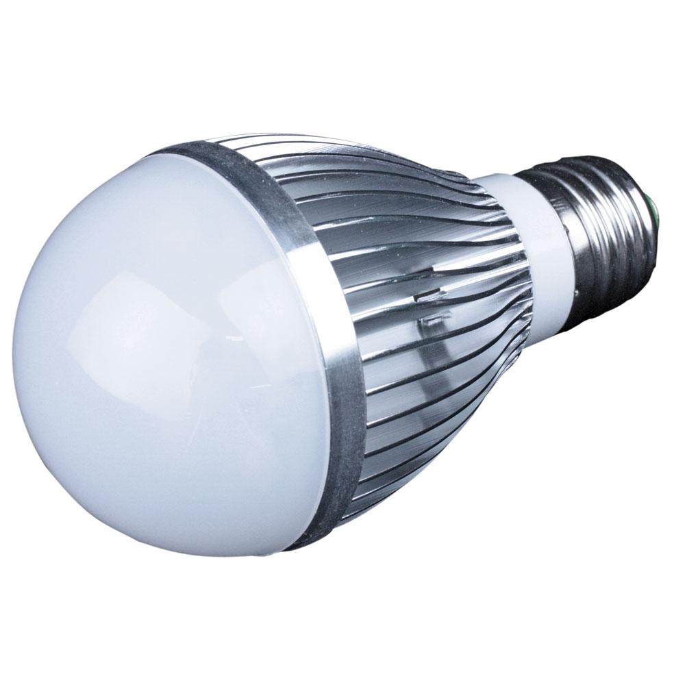 Lunasea E26 Screw Base LED Bulb - 12-24VDC/7W- Warm White