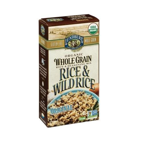 Lundberg Organic Whole Grain Original Wild Rice (6x6 OZ)