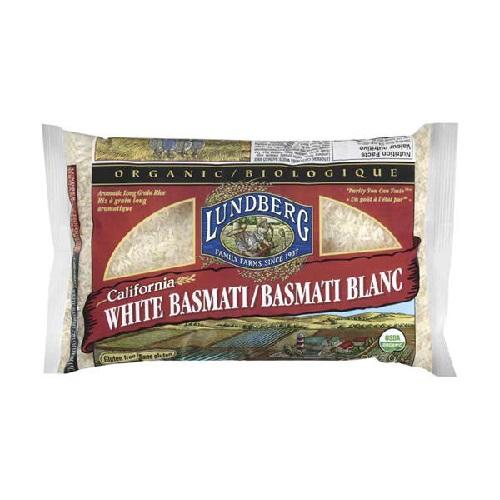 Lundberg Farms Basmati White Rice (1x25lb)