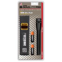 Mini Maglite SP2201H Handheld Flashlight, 3 W, 3 V, LED, 10.45 - 31.30 hr