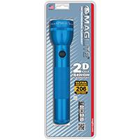 MAGLITE Xenon 2-Cell D Flashlight Blue