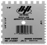 6287 SQ-NOTCH PLASTIC SPREADER