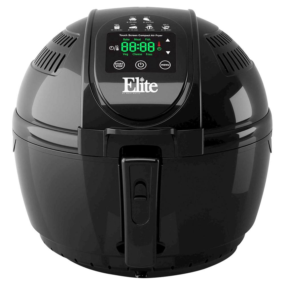ELITE PLATINUM EAF-1506D 3.5QT DIGITAL MULTI FRYER 1300 WATTS