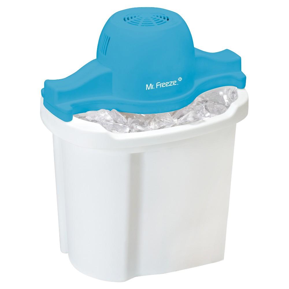 MR FREEZE EIM-404 WHITE/BLUE 4QT ELECTRIC ICE CREAM MAKER