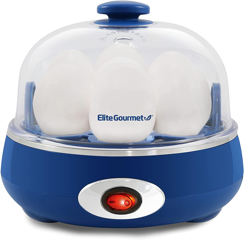 ELITE EGC007CBL CLASSIC BLUE EASY EGG COOKER