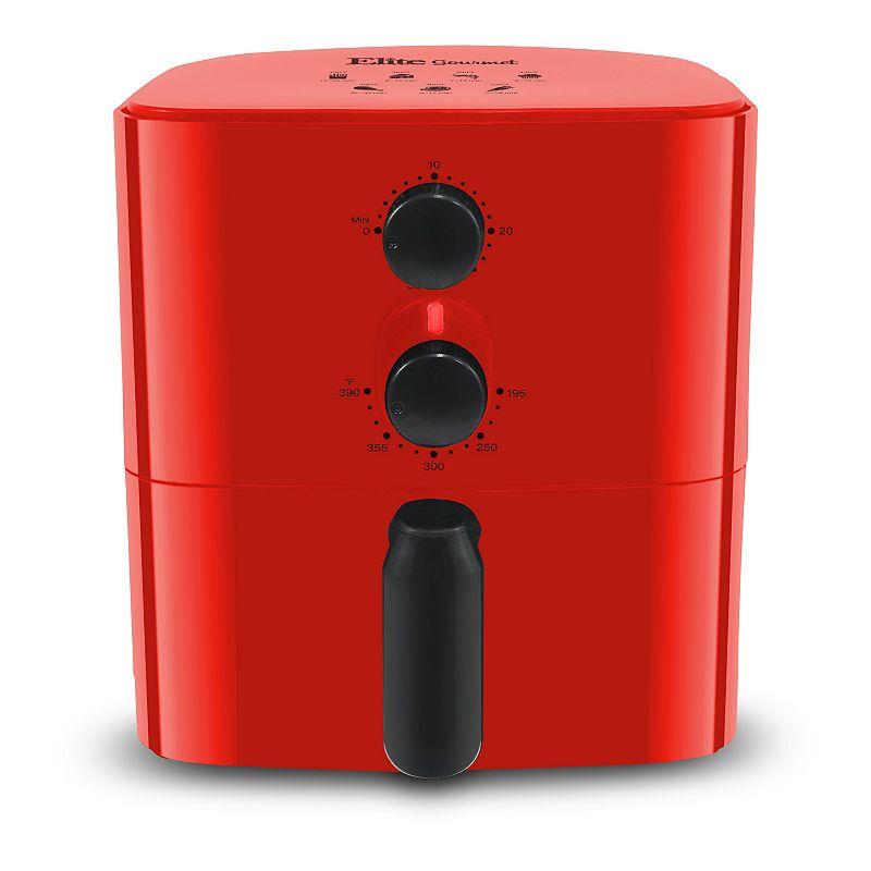 ELITE EAF-3218R RED 1QT PERSONAL AIR FRYER