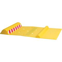 MAXSA INNOVATIONS 37356 Park Right Parking Mat (Yellow)