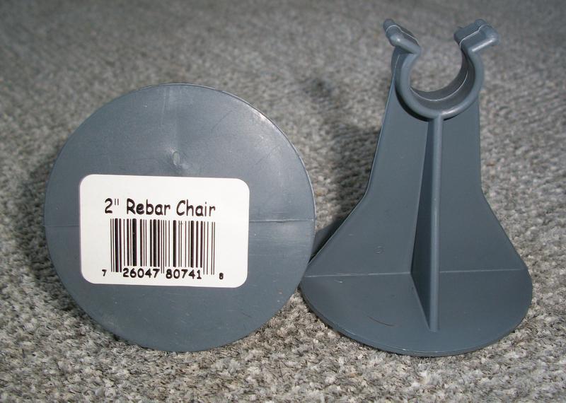 8072CHAIR 2 IN. PLASTIC REBAR CHAIR