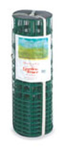 28 INCHES X 50 FEET GREEN VINYL GARDEN FENCE