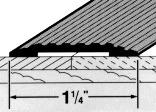 78014 1-1/4X36 SV CARPET TRIM