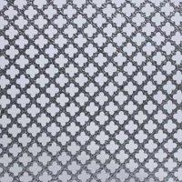 M-D 57166 Cloverleaf Lightweight Metal Sheet, 0.02 in T, 36 in L x 36 in W