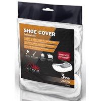 Medline VEN28100 Shoe Cover, 6-1/4 in L x 10-1/4 in W x 12-3/4 in H, Fabric