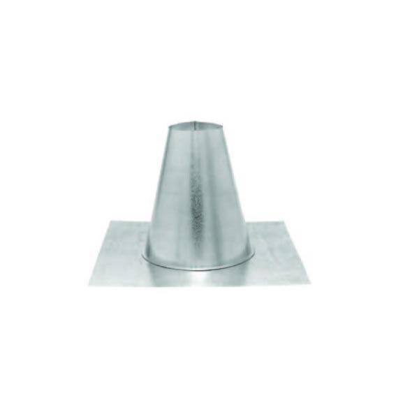 """3"""" PelletVent Pro Flashing DSA Aluminum, 7/12 - 12/12"""